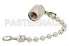 50 Ohm SMA Male Non Shorting Cap With 2.5 Inch Chain -- PE6019