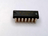 TEXAS INSTRUMENTS SEMI MC1489N ( IC, LINE RECEIVER, 14-DIP; DEVICE TYPE:LINE RECEIVER; IC INTERFACE TYPE:RS232; NO. OF RECEIVERS:4RECEIVERS; SUPPLY VOLTAGE MIN:4.5V; SUPPLY VOLTAGE MAX:5.5V; DRIVER...