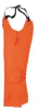 Bib Overalls,Orange,PVC,3XL -- 18X734