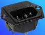 Power Inlet-Fuse Module IEC 320-C14 -- AEL-JR 101-2F