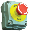 Emergency Stop Button with Aluminum Enclosure -- 52-302