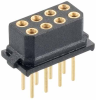 13+13 Pos. Female DIL Vertical Throughboard Conn. for Latches -- M80-7702645 -- View Larger Image