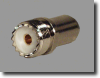 SO239 Female UHF Connector For Micro Loss Coax -- RFC-08Z