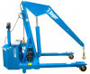 Adjustable Leg Staddle Full Powered Floor Cranes -- FP-2A - Image