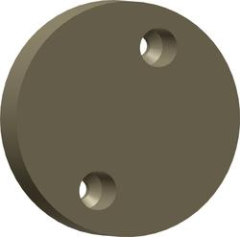 Each standard friction pad used on 491 and 493 Series Caliper Disc Brakes.