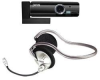 Jwin 300K Pixel Mini Webcam PC Camera and Microphone Headset -- JCAM800