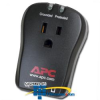 APC 1 Outlet Portable Surge Protector with RJ-11 -- P1T -- View Larger Image