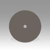 3M 6002J Coated Diamond Hook & Loop Disc - 250 Grit - 4 in Diameter - 1 in Center Hole - 86065 -- 051144-86065 - Image