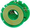 Pancake Slip Ring with PCB Board -- LPKS028-02S-U2 - Image