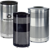 Classics Stainless Steel Recycle Garbage Cans -- Y54