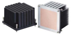 Socket 1366 CPU cooler from Rego Electronics Inc.