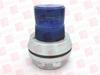 UTC FIRE & SECURITY COMPANY 51B-N5-40W ( BEACON LAMP, FLASHING, BLUE, 120VAC ) -Image