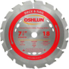 Oshlun SBM-072518 7-1/4-Inch x 18 Tooth ATB Deck and Nail.. -- SBM-072518