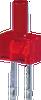 2MM FLAT TOP RED LED -- WP13ID