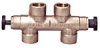 Bronze Culligan Exchange Tank Style By-pass Valve -- Divertaflo 34033 Series