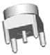 RF Connectors / Coaxial Connectors -- SMP-MSCM-PCT-2 -Image