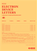 Electron Device Letters, IEEE -- 0741-3106