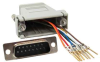 DB15 Male to RJ45 Modular Adapter -- 31D2-A1 -- View Larger Image