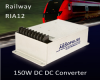 150W Fully Encapsulated DC-DC Converter with RIA12 Railway Input Range -- RWR 155-P59 - Image