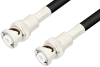 MHV Male to MHV Male Cable 24 Inch Length Using 93 Ohm RG62 Coax -- PE3517LF-24 -- View Larger Image