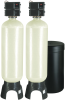 Meter Demand Duplex Alternating Water Softeners for Hardness Reduction -- 7100050 -- View Larger Image