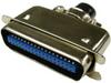 36C Male Centronics Solder Connector -- 85-536 - Image