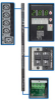 3-Phase Switched PDU, 28.8kW, 30 240/230/220V Outlets (24 C13, 6 C19), Hardwire 415/400/380V Input, 0U Vertical Mount -- PDU3XVSRHWB