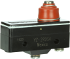MICRO SWITCH YZ Series Standard Basic Switch, Single Pole Normally Open Circuitry, 15 A at 250 Vac, Low Overtravel Plunger Actuator, 3,61 N to 5,28 N [13.0 oz to 19.0 oz] Operating Force, Screw Termin -- YZ-2RDS4 -Image