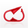 Pinch Clamp, Red -- 14101 -Image