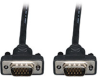 Low Profile VGA Coax Monitor Cable, High Resolution cable with RGB coax (HD15 M/M), 50-ft. -- P502-050-SM