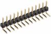 10 Pos. Male SIL Horizontal Throughboard Conn. -- M22-2031005 - Image