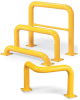 RELIUS SOLUTIONS Round-Post Steel Machinery Guards -- 7841200