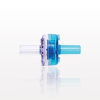Check Valve, Clear Inlet, Blue Outlet -- 80393 - Image