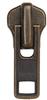 Zipper Sliders #8 / Metal Jacket - Gold -- ZS8MJKGO