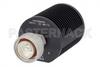 25 Watt RF Load Up To 8 GHz With 7/16 DIN Male Input Round Body Black Anodized Aluminum Heatsink -- PE6209 -Image