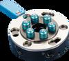 Round Quick-changer Ø 50 mm, 6 Air Inlets, Robot Side