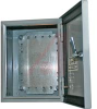 ENCLOSURE;16GA SHEET METAL;NEMA;HINGED COVER;SMOOTH GRAY;9.84LX9.84WX5.91D -- 70147961