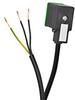 SOLENOID CBL 11mm DIN 0-230V 3m (9.84ft) 3-WIRE PIGTAIL PVC -- SC11-3
