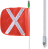 All-Purpose Lighted Warning Whips -- AP1012OW14PT -Image