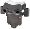 TP Series Rocker Switch, 1 pole, 3 position, Screw terminal, Flush Panel Mounting -- 1TP1-5 -Image