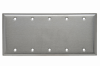 Blank Plates -- Box Mounted, Five Gang -- SS53 - Image