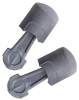 3M Pistonz Uncorded Earplugs P1400, Hearing Conservation NRR 29dB 400pr/case -- 093045-93401