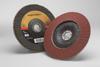 3M Cubitron II 967A Type 29 Coated Ceramic Aluminum Oxide Flap Disc - 40 Grit - 7 in Diameter - 55629 -- 051141-55629 - Image
