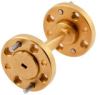 WR-8 90 Degree Right-hand Waveguide Twist with a UG-387/U-Mod Flange Operating from 90 GHz to 140 GHz -- PEW8TW0002 -Image
