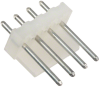 Rectangular Connectors - Headers, Male Pins -- WM4371-ND