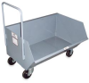 RELIUS SOLUTIONS Low-Profile Mobile Hoppers -- 4516627
