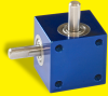 Miniature Right Angle Drive with Aluminum Housing -- RA-303 1:1