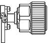 TE Connectivity 1061709-1 7mm Precision RF Connectors -- 1061709-1