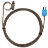 Digi-Sense Type-T Hose Clamp Probe 0.50 -1.50 OD Mini Conn GRD 10Ft SS Braid Cable -- GO-08469-34