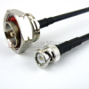 BNC Male to 7/16 DIN Male Cable LMR-240 Coax in 36 Inch and RoHS -- FMC0815240LF-36 -Image